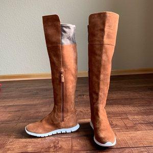 Cole Haan zero grand sueded leather knee hi boot